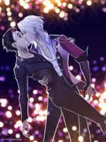 Yuri on ice - Viktor x Yuuri by maXKennedy