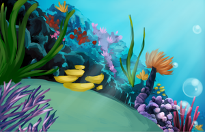 Exibit 8 - Coral Reef by Biscottimon