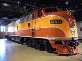 Southern Pacific Daylight E9 No. 6051 by rlkitterman