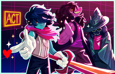 ACT Deltarune by PastelWing