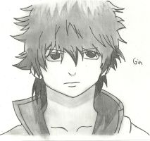 Gin from Gin Tama by KoyukiNguyen