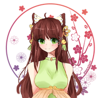 [EXTRA] Chinese Flower by Chocolatte-Kun