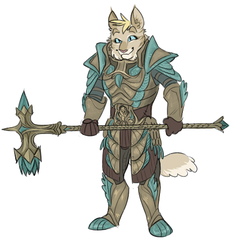SP Skyrim AU: New Suit by jovishark