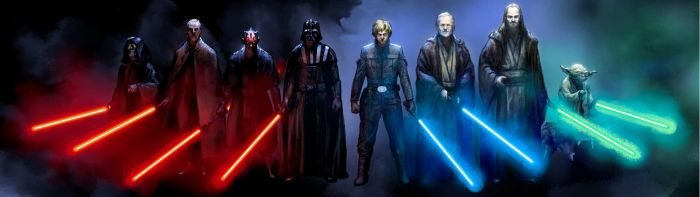 Star Wars The Sith Lords and The Jedi Knights by Loki-Odin