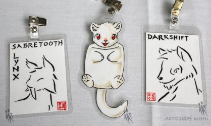 3 badges from AC by kiohl