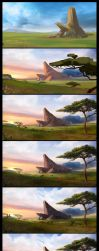 Lion king tribute step by step by jamga