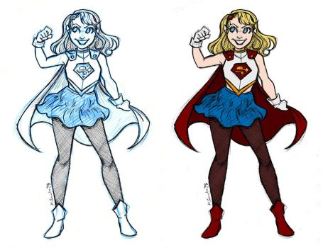 Supergirl Redesign by msciuto