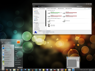 Concept Theme for Windows 7 by alkhan
