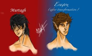 Eragon And Murtagh by Hysterio0
