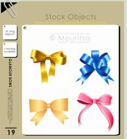 Object Pack - Glamour Bows by iMouritsa