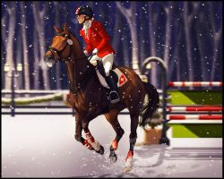 *Third Annual Winter Gala Lucie SJ Entry* by NimbyNimb