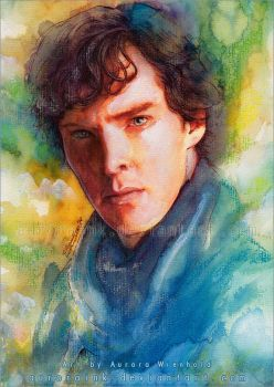 Sherlock by RoryonaRainbow
