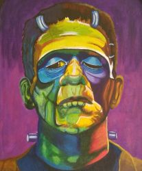 Frankensteins Monster by sandeesmith