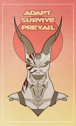 Adapt. Survive. Prevail. by francis001