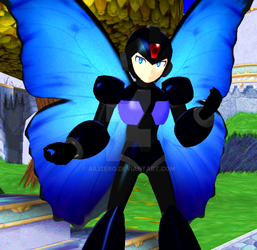 Butterfly MegamanX by AiliZero