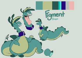 Figment Ref by Pastel-Core