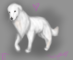 Painting of doggy by PositivelyFreezing
