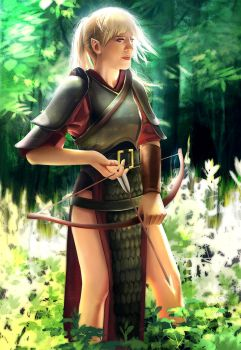 Elf Scout by mannequin-atelier