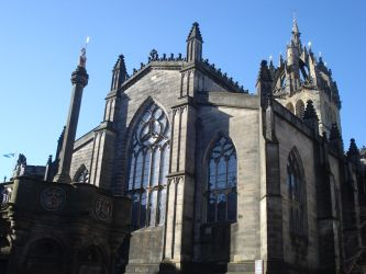 Cathedral in Edinburg by Mits-Giotix