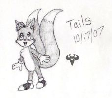 Tails Sketch by AidenVP