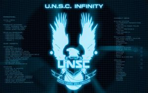 UNSC Infinity Display V3 by EchoLeader