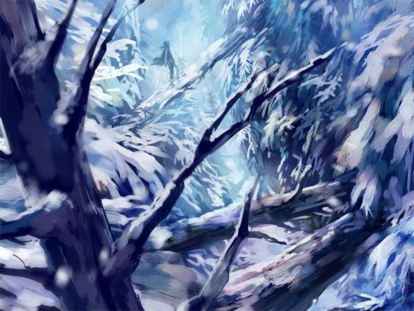 Midwinter + speedpaint vid by nuriko-kun