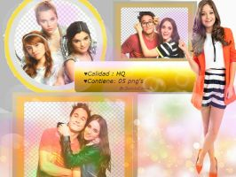 +SOY LUNA 2 PACK PNG /PACK 002 HQ by DanielaCarson