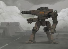 Battletech Hollander by shinypants