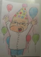 Birthday uncle! by Churichan