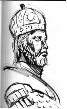 Quick sketch of Constantine XI Palaiologos by Dairanhill