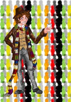 Doctor Who : Jelly Baby Time by Campanita42