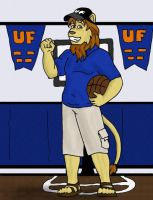 Commission: B-ball Lion by Luprand