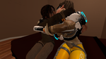 Tracer and Lara by JohnHitchcock