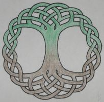 Celtic Tree of Life by mynameis-jinx