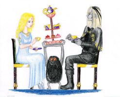 Tea with the Goblin King by Rayless-Night