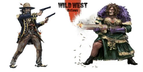 Wild West Outlaws by BGK-Bengiskhan