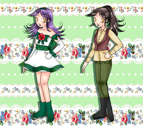 Hush! Pretty Cure Les Shelters :: Cure Fir by chiyako92