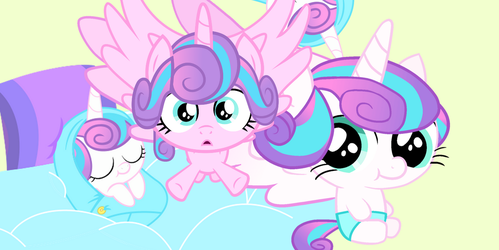 Flurry heart wallpaper by MLPsonic156