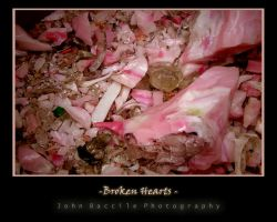 Broken Hearts Here by barefootphotography