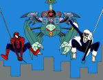Attack of the Tri-Spider Slayer by Streetgals9000 by JQroxks21