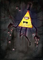 Gravity Falls - Monster by MaryIL