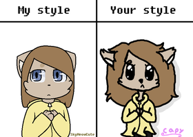 My style VS your style by Nobert11