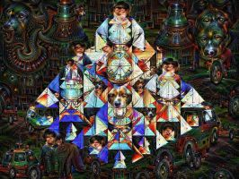 Deep Neural Net Dreams by jodroboxes