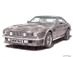 1984 Aston Martin V8 Vantage by TwistedMethodDan