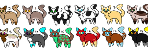Batch #1 // 20 FREE adoptables (OPEN) (4/20) by AshPumaREAL