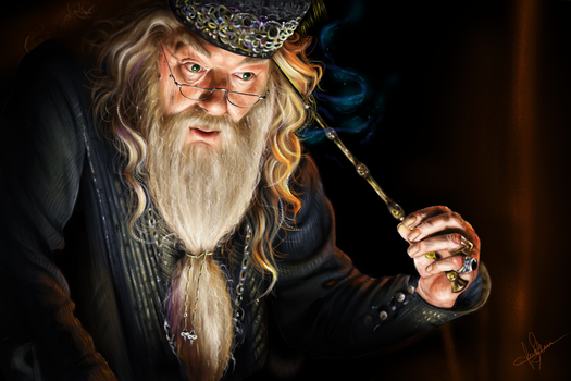 Dumbledore by lara-cr