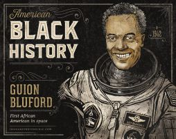 Black History - Guion Bluford by IngvardtheTerrible