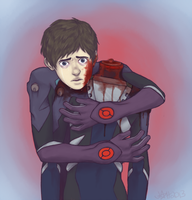 It's not your fault, Shinji by JOH-star