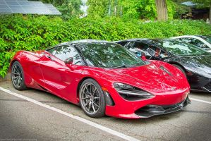 Volcano Red 720S by SeanTheCarSpotter