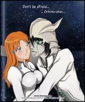 Don't be afraid, Orihime-chan by Cukismo